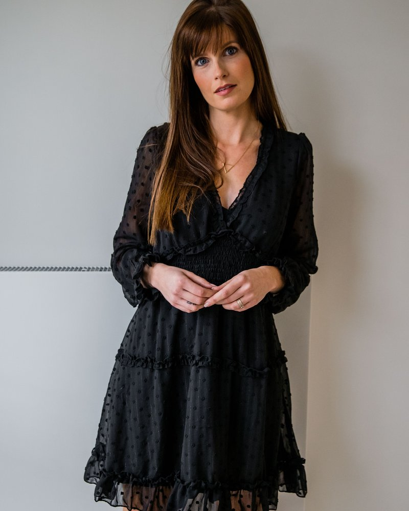 Dotted Dress Black