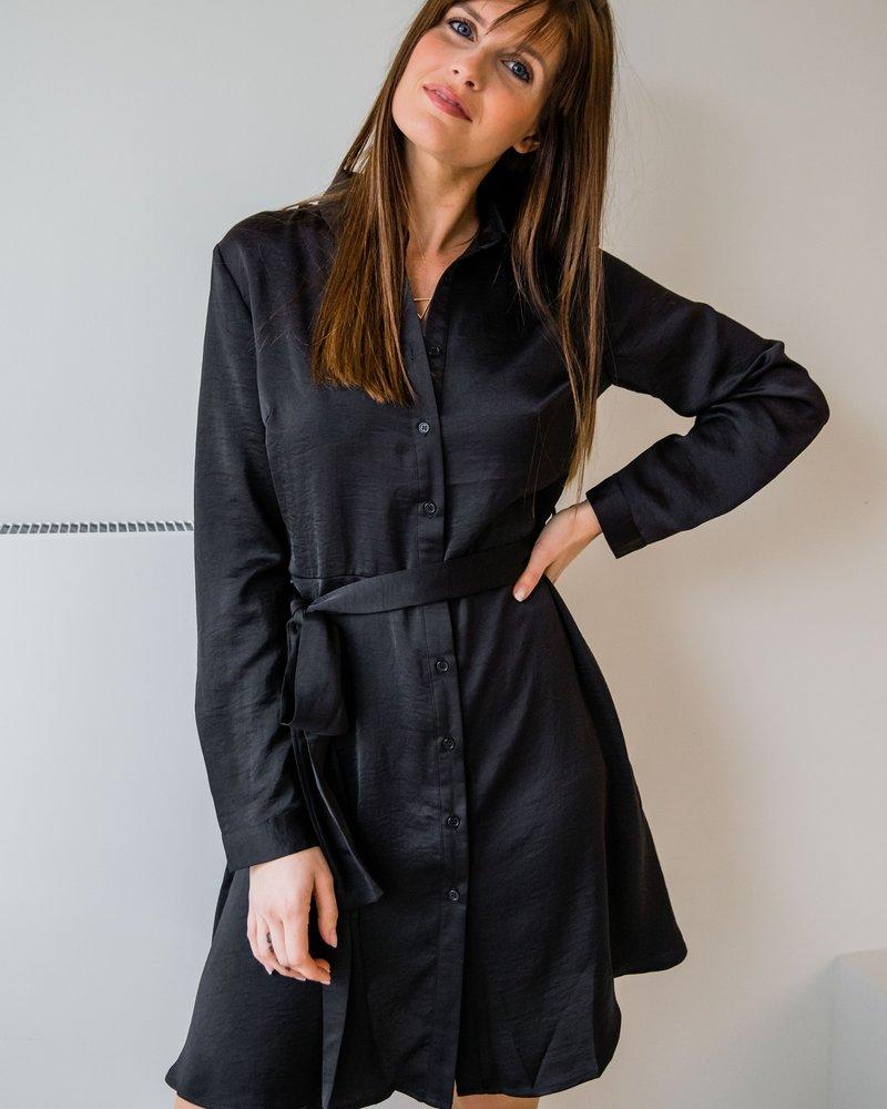 Classy Casual Dress Black