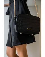 Black Croco Bag