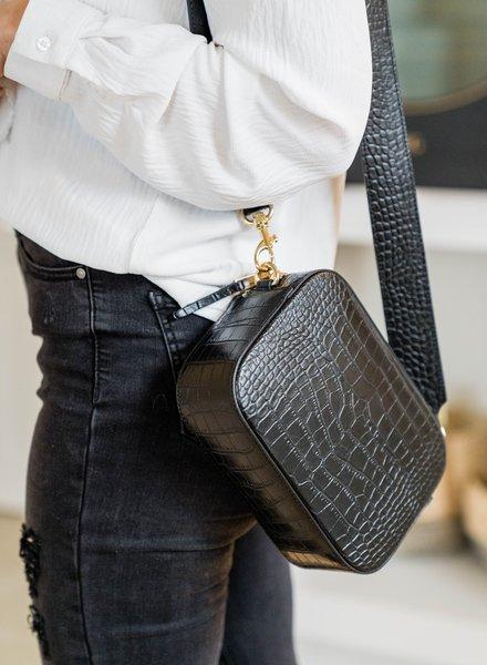 Croco Pocket Bag