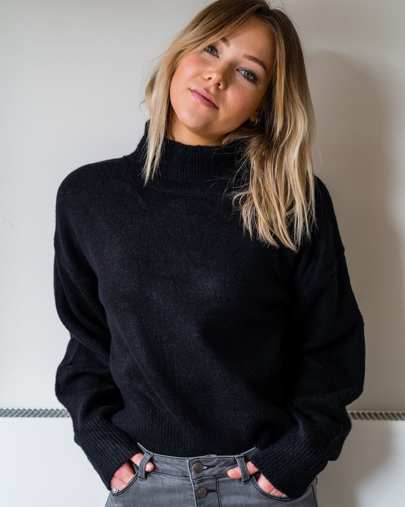 Oversized Sweater Black