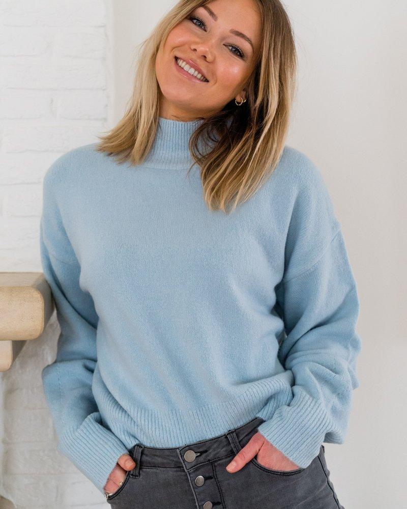 Oversized Sweater Babyblue
