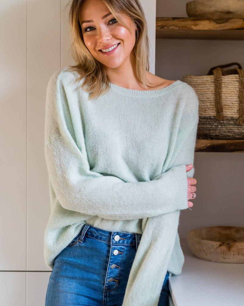 Loose Sweater Mint