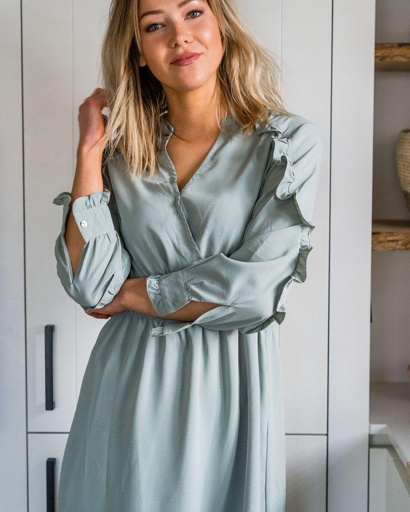 Bianca Dress Green