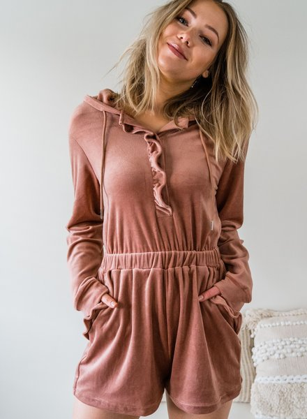 Softy & Cute Homesuit Rose