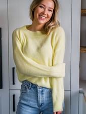 Crop Sweater Yellow