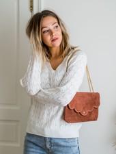 Crochet White Sweater