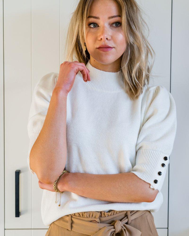 Alyssa Top White