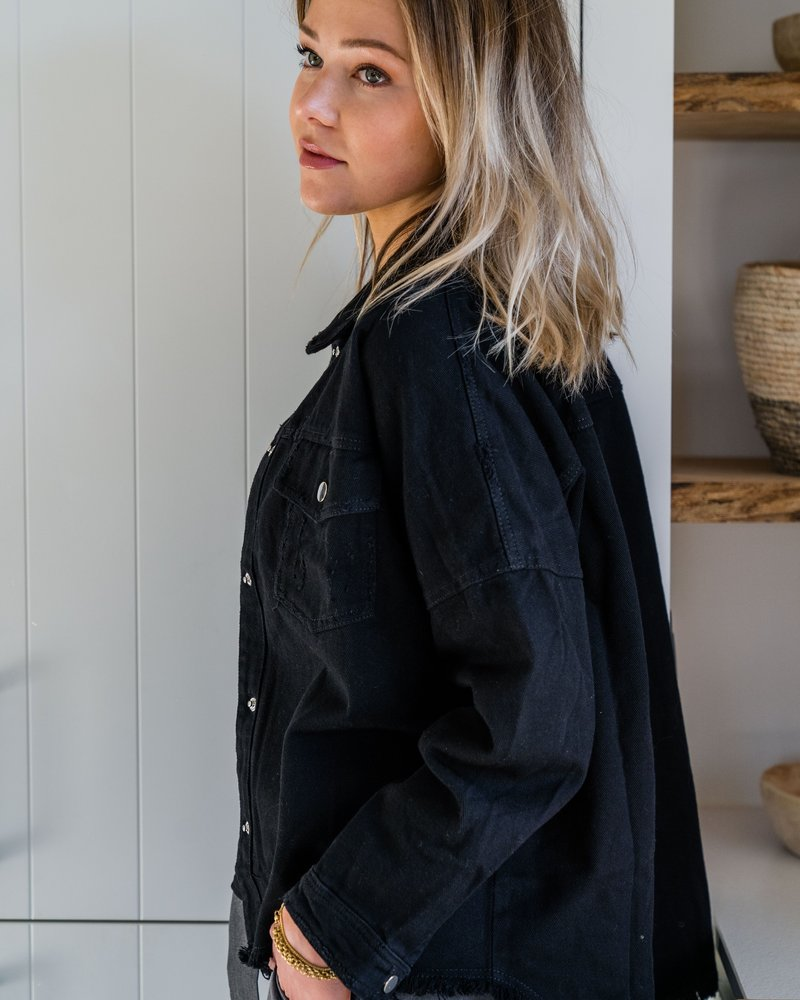 Senna Jacket Black