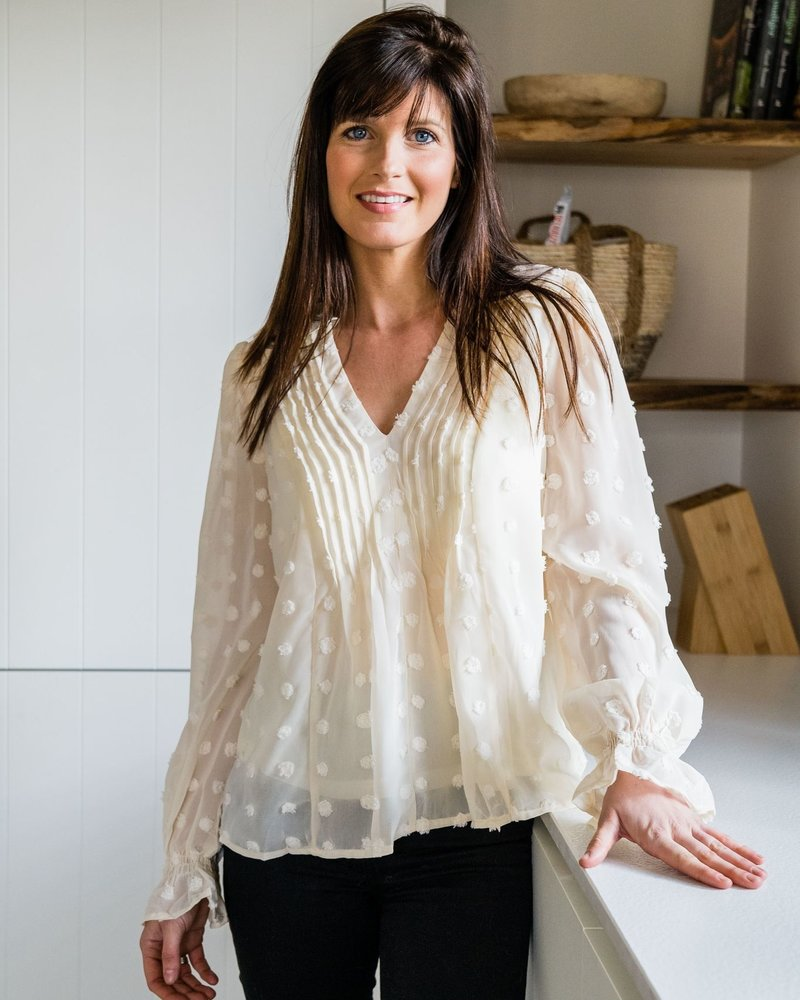 Bianca Blouse Beige