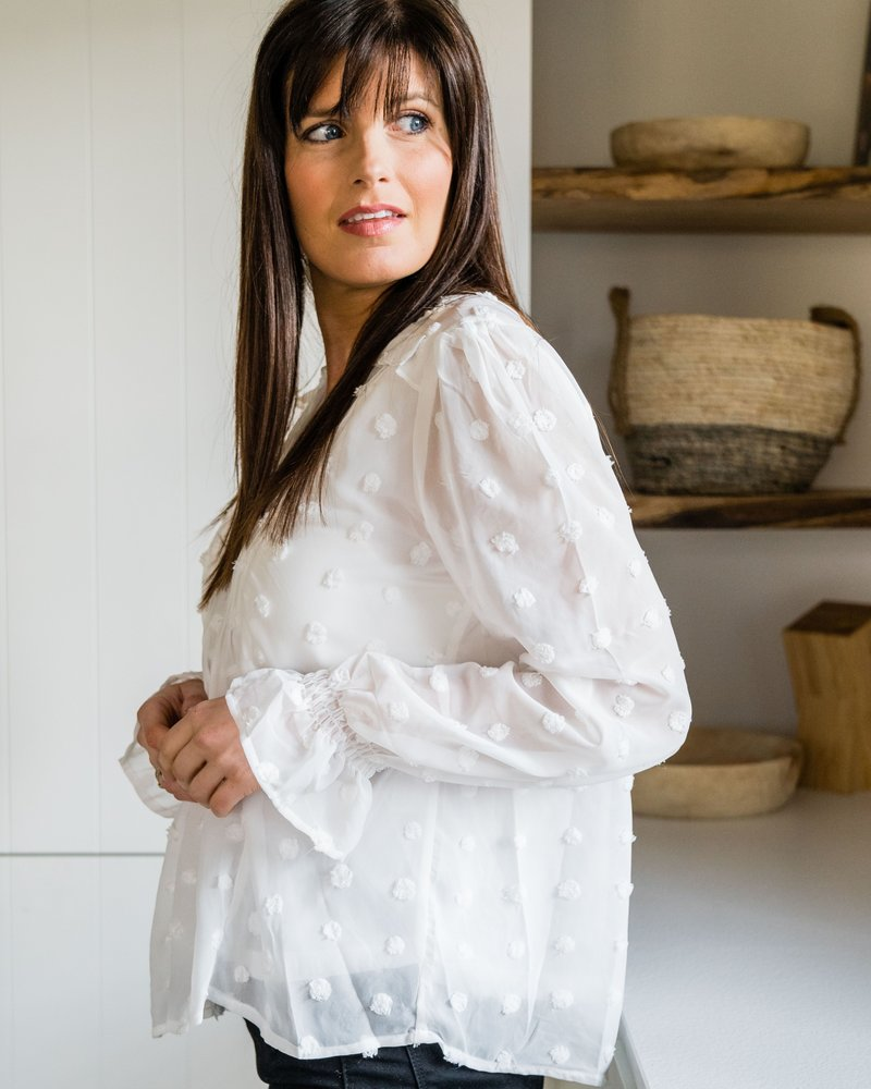 Bianca Blouse White