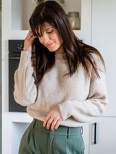 Crop Sweater Beige