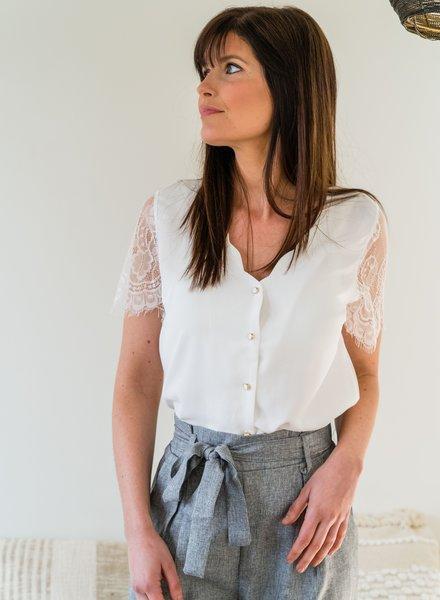 Dena Blouse White