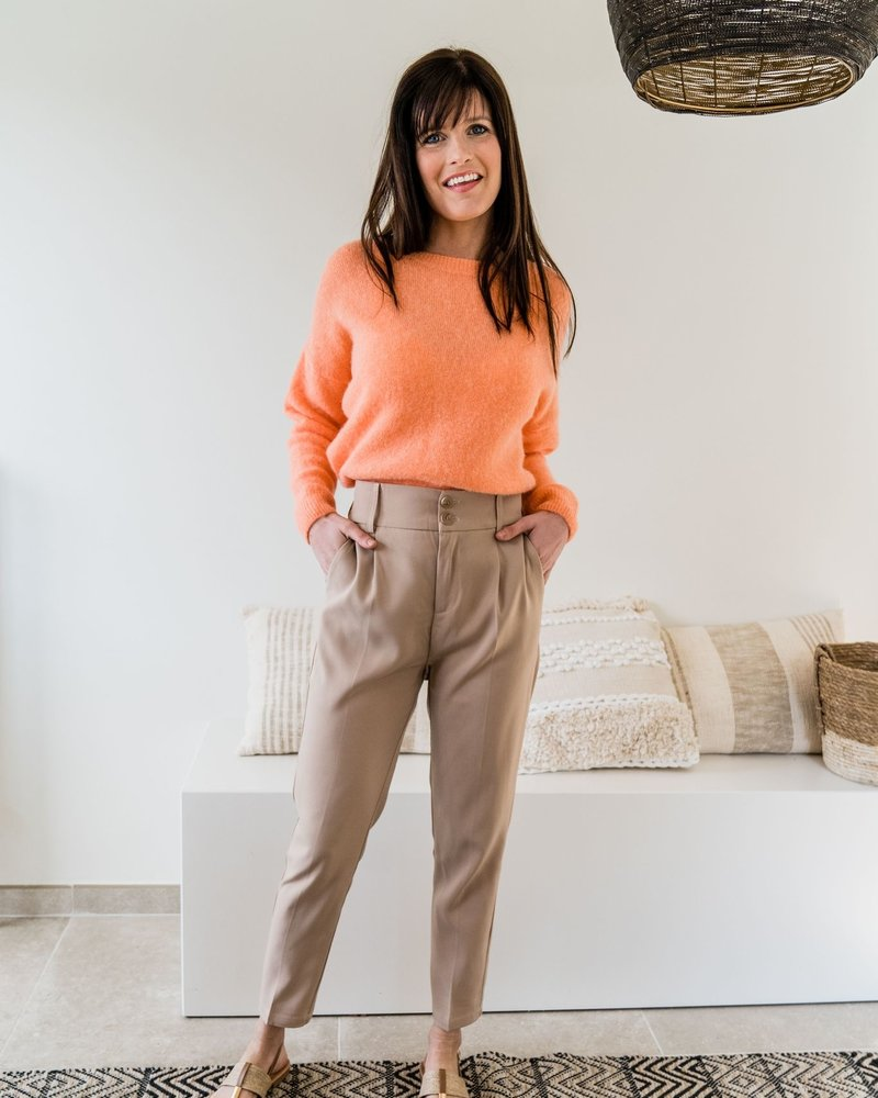 Loose Sweater Light Orange