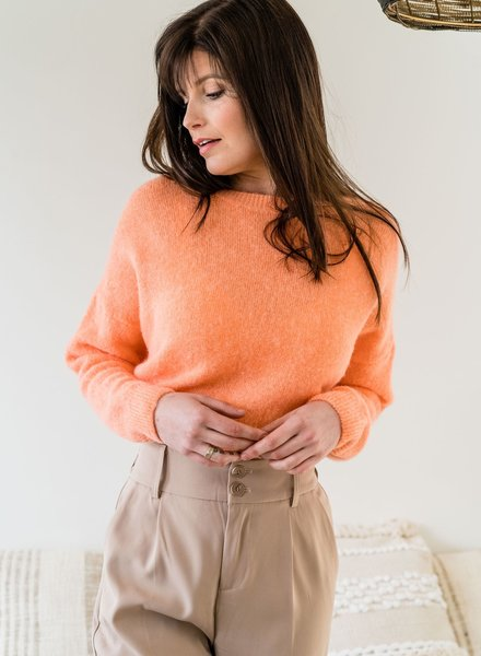 Loose Sweater Light Orange