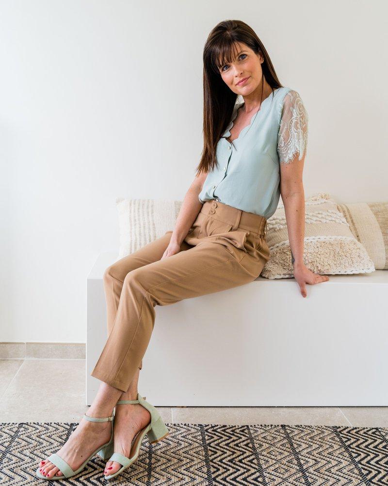 Felicia Sandals Mint