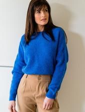 Loose Sweater Kobalt