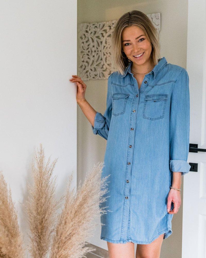 Jeans Pocket Dress