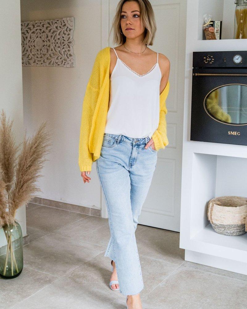 Mila Gilet Yellow