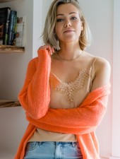 Mila Gilet Orange