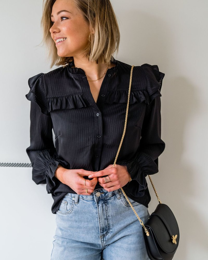 Kylie Blouse Black