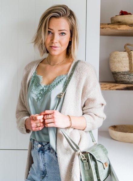 Mila Gilet Beige