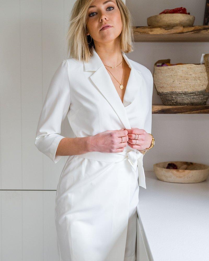 Yentl - Blazerdress White
