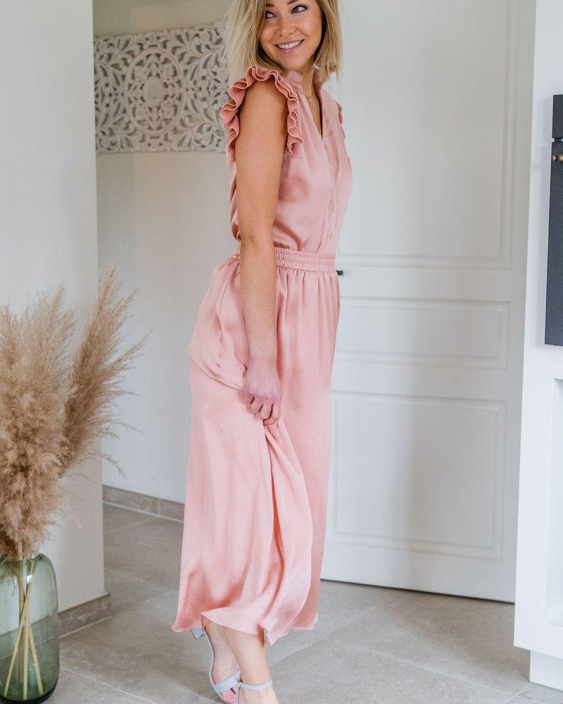 Yentl- Maxi Skirt Pink
