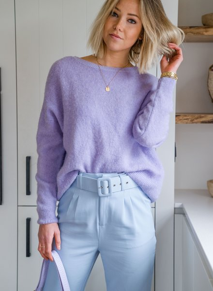 Loose Sweater Lila