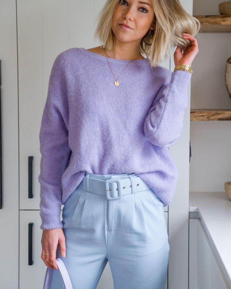 Loose Sweater Lila