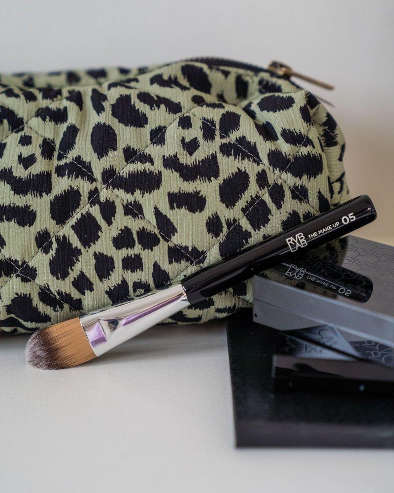 Make-up Etui Luipaard Kaki