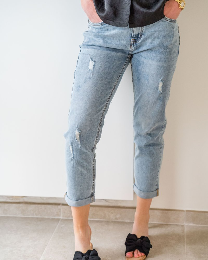 Ripped Mom Pants