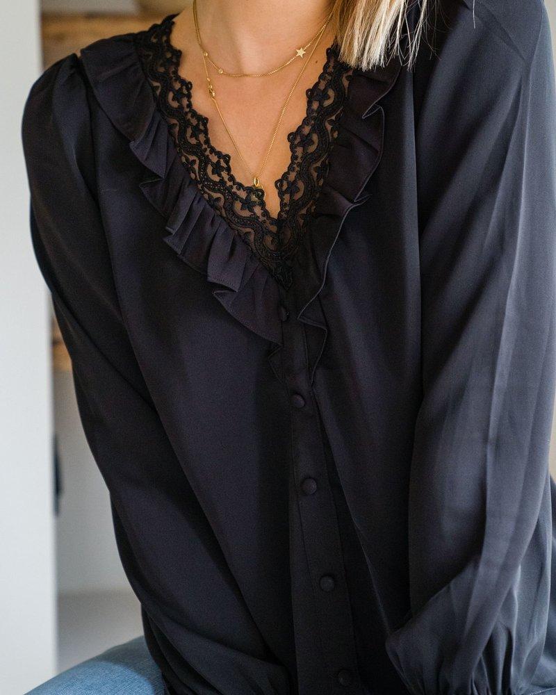 Lucie Blouse Black