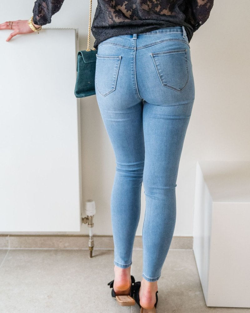 Mid waist Jeans Blue
