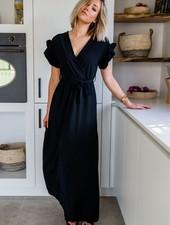 Marie Frill Maxi Dress Black