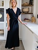Marie Frill Maxi Dress Black
