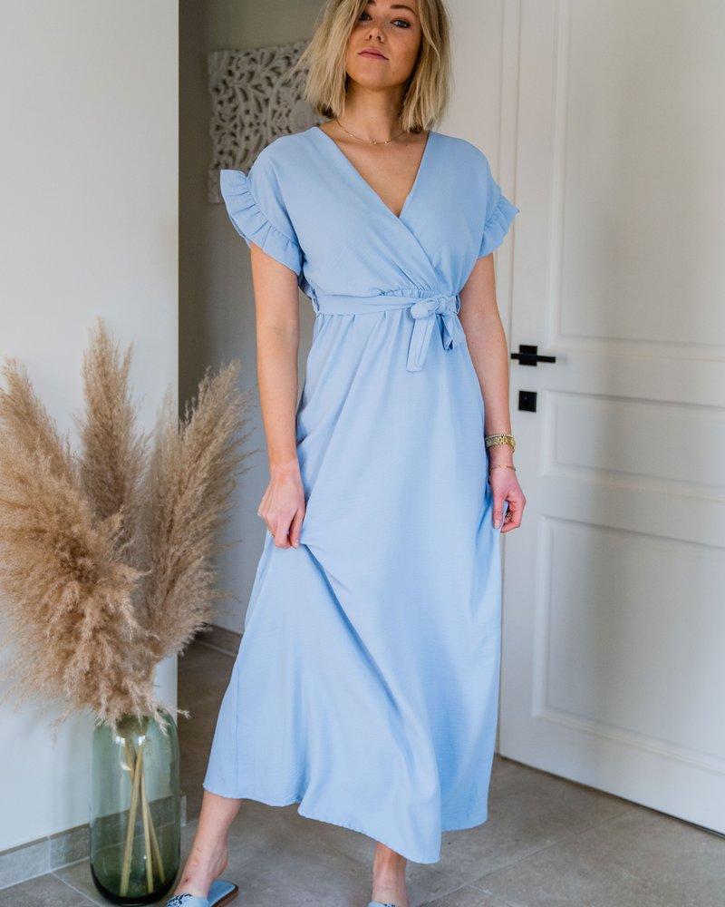 Marie Frill Maxi Dress Ciel