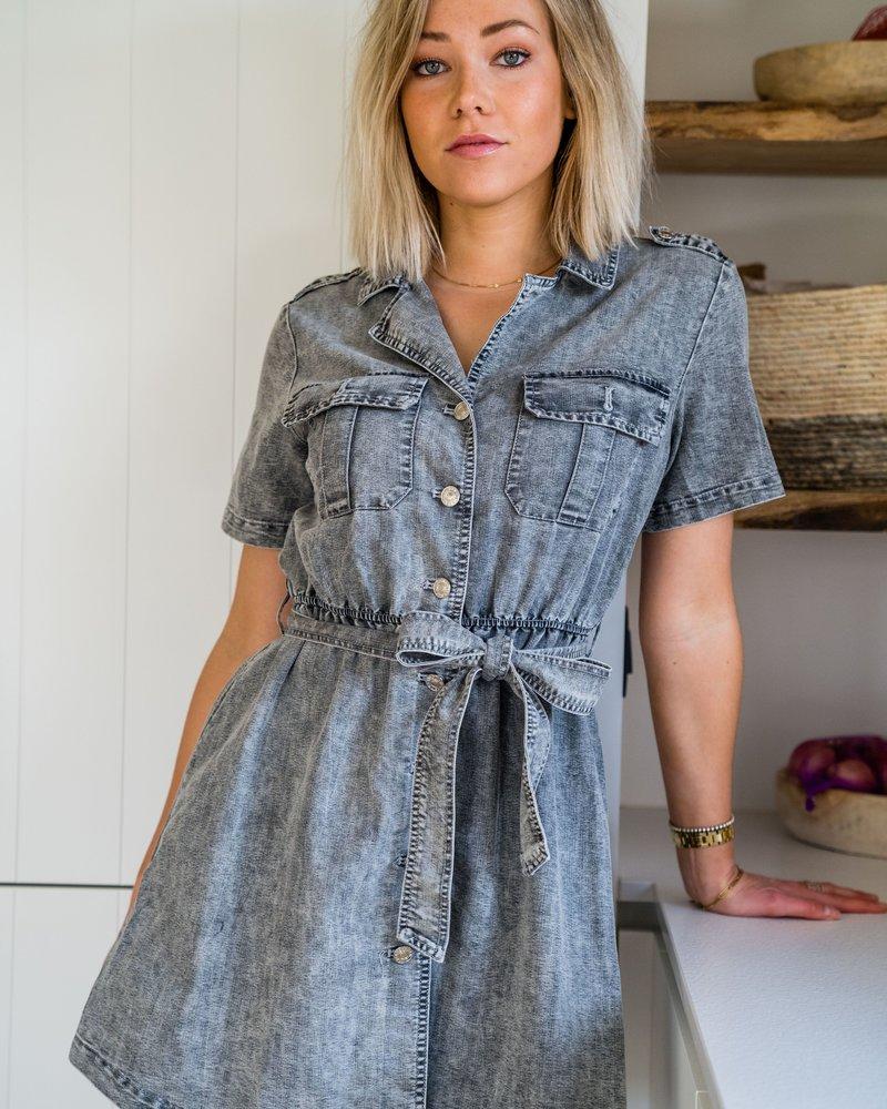 Jeans Belt Dress