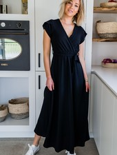 Fleur Maxi Dress Black