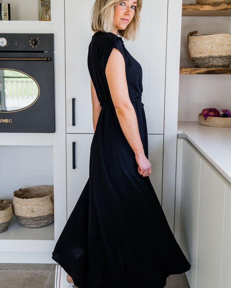 Fleur Maxi Dress Black