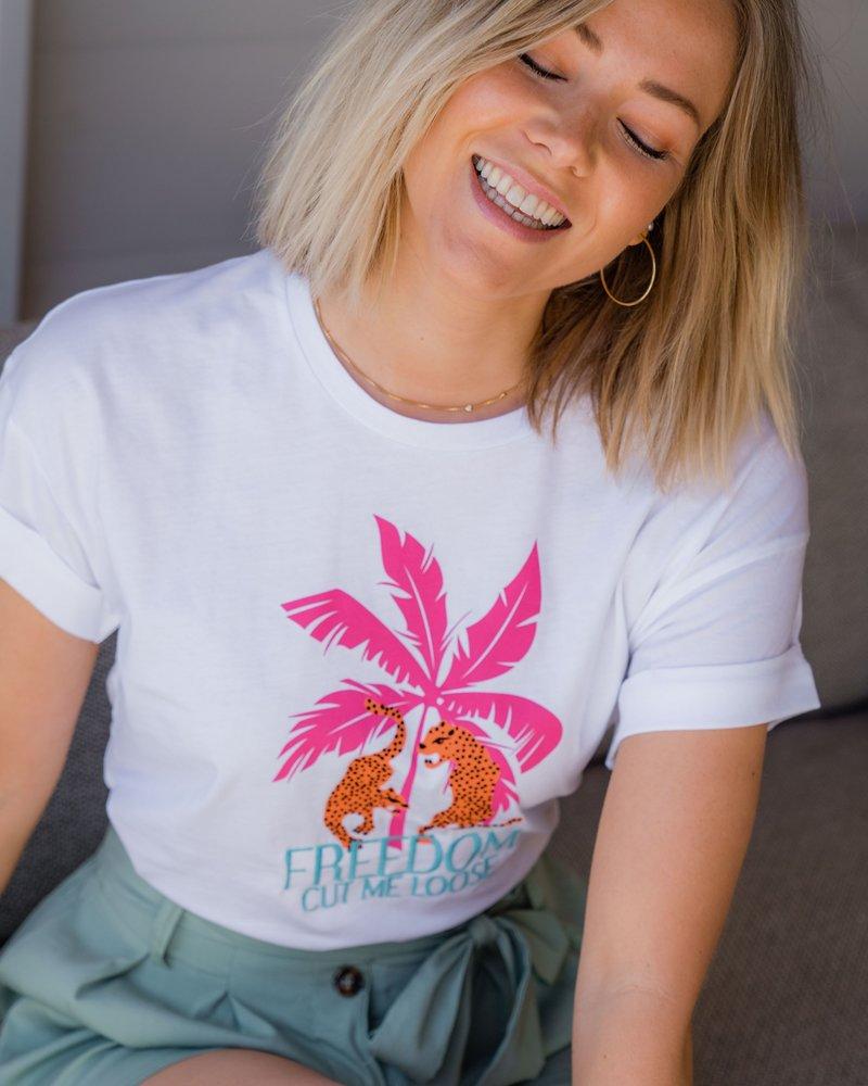 Pink Palmtree T-shirt
