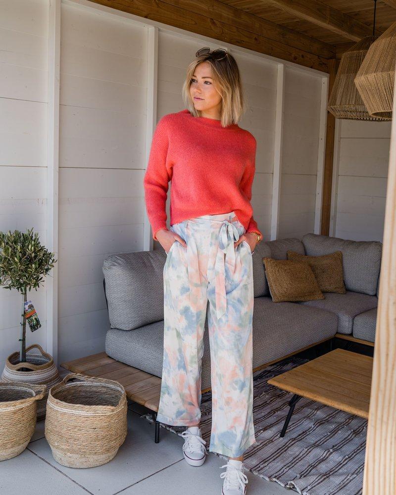 Crop Sweater Corail