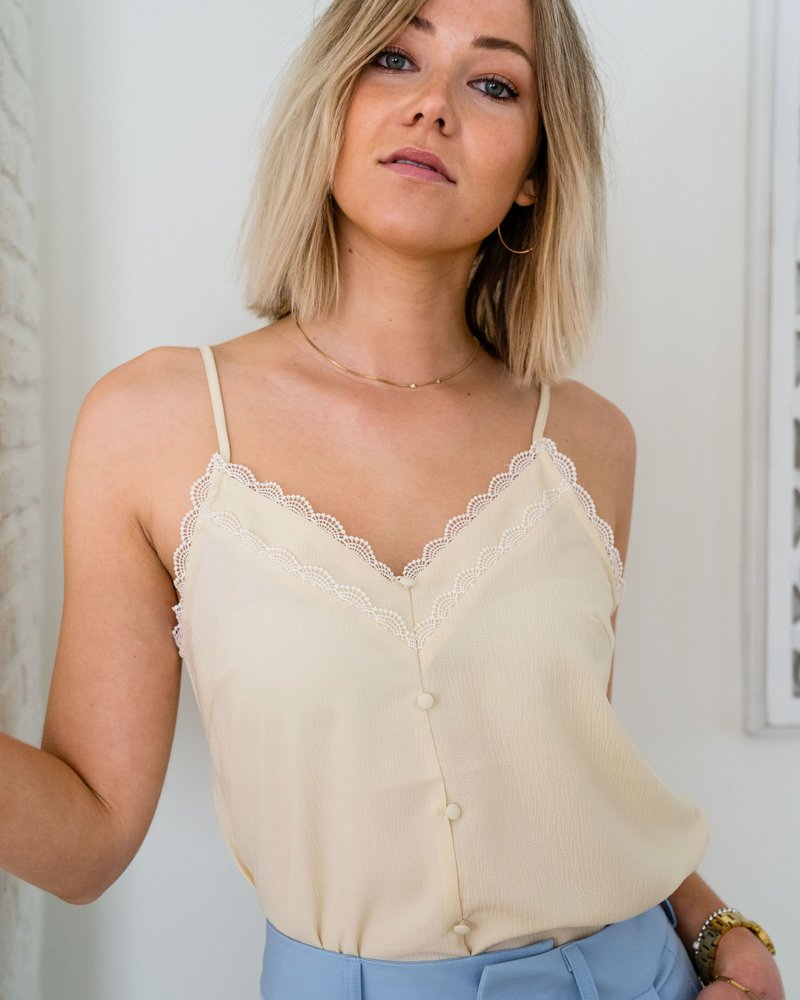Amy Top Yellow