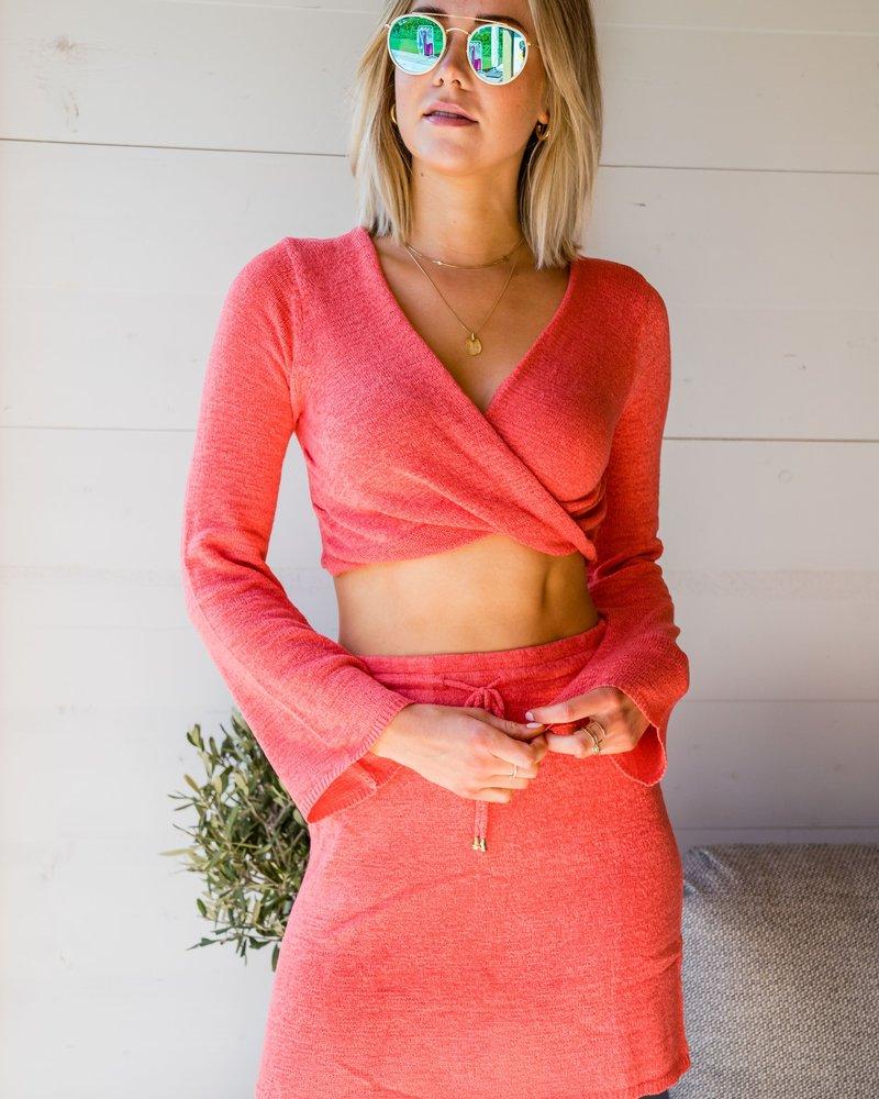 Xenia Skirt Corail