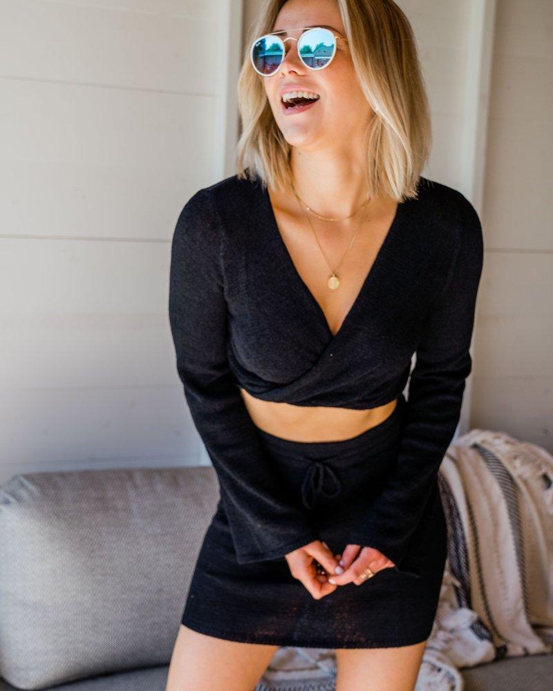 Xenia Skirt Black