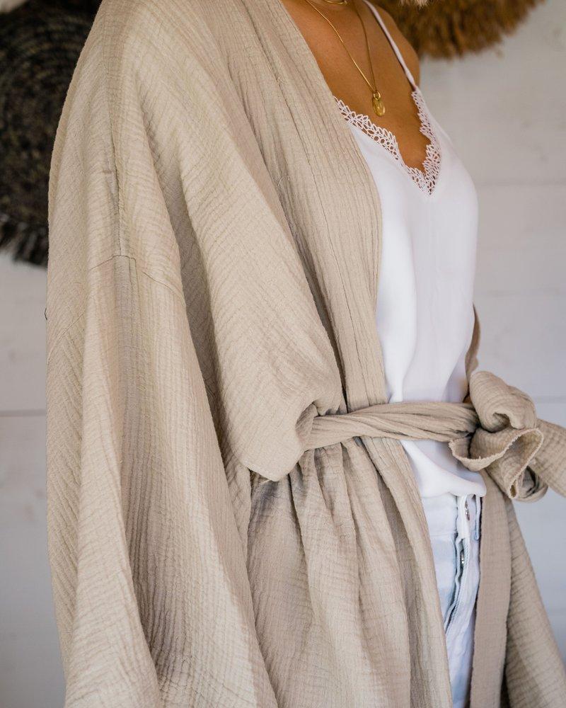 Tetra Kimono Beige