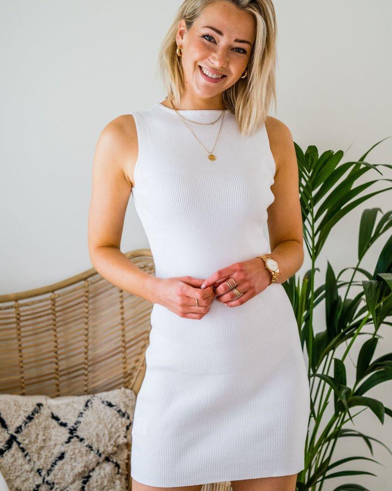 Xenia White Dress