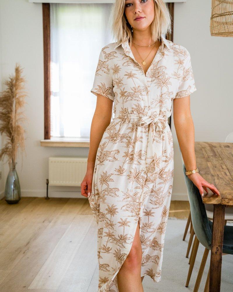 Jungle Dress Beige
