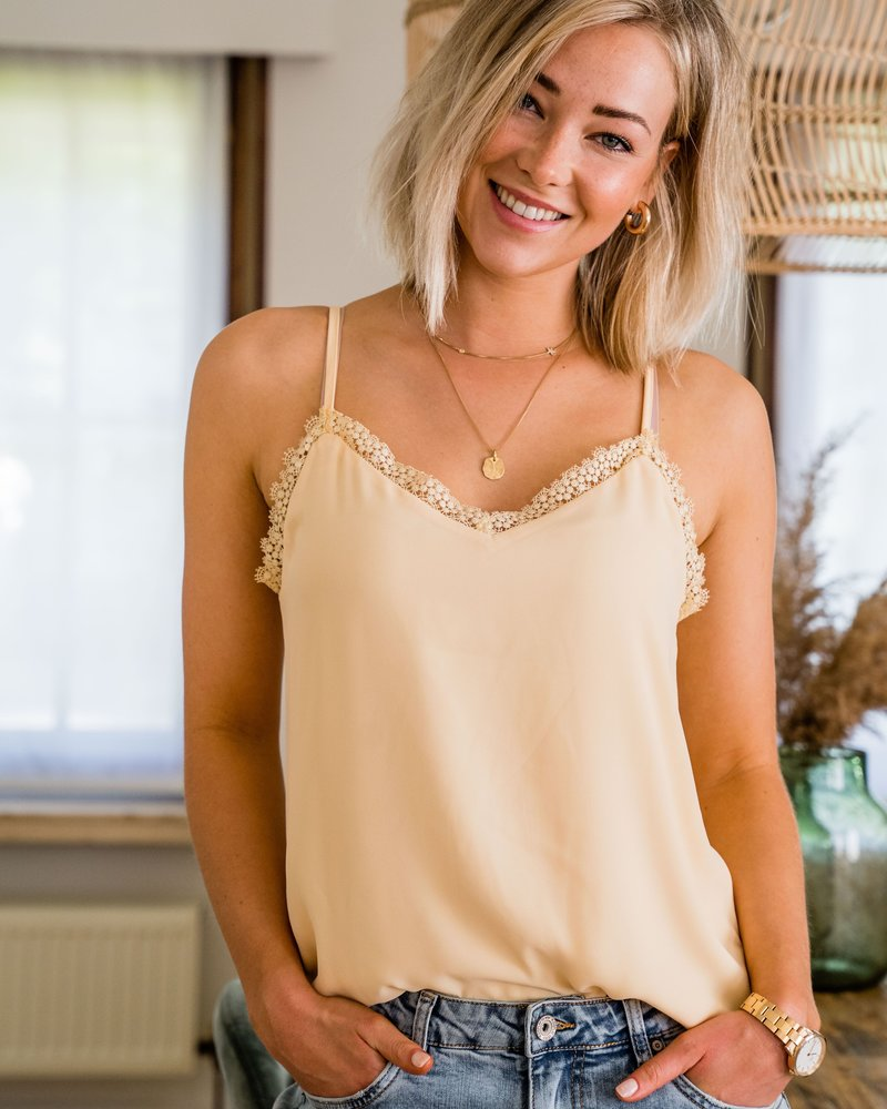 Marie Top Yellow 77585