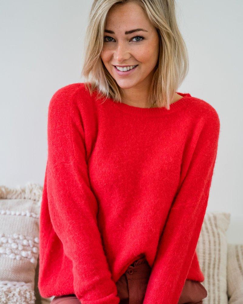 Loose Sweater Corail